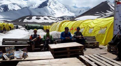 Альпинисты в погонах из трех стран СНГ готовы покорить одну из главных вершин Памира