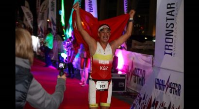 «Железный человек» из Кыргызстана готовится преодолеть 515 километров за три дня!