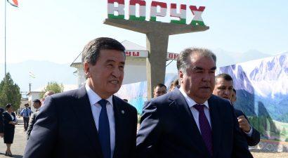 На границе Кыргызстана и Таджикистана очередной конфликт или президенты стран местным не указ?