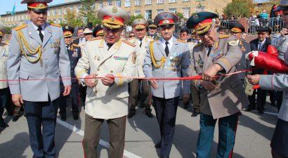 На 50-летие Академии МВД в Караганде съехались свыше 50 генералов из разных стран