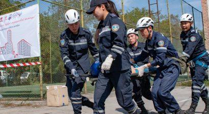 Народ не ленись, спасать научись! МЧС Кыргызстана показало, как действовать при ЧП (ВИДЕО)