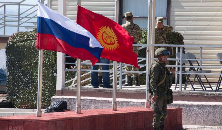 Военное партнерство Кыргызстана и России в действии.