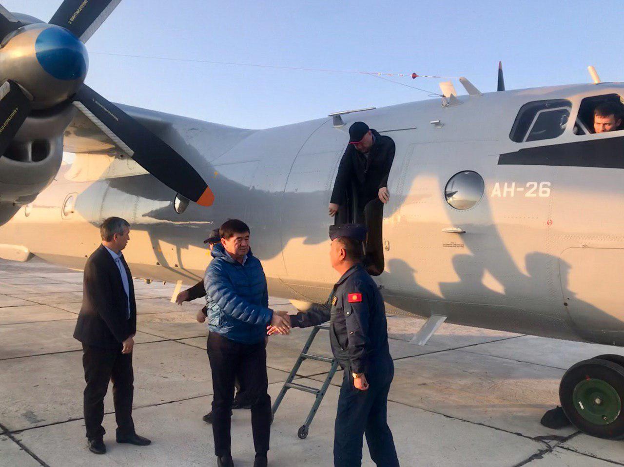 М. Абылгазиев вынужден был посетить Баткенскую область по поводу ЧП, экстренно вылетев туда на военном борту…