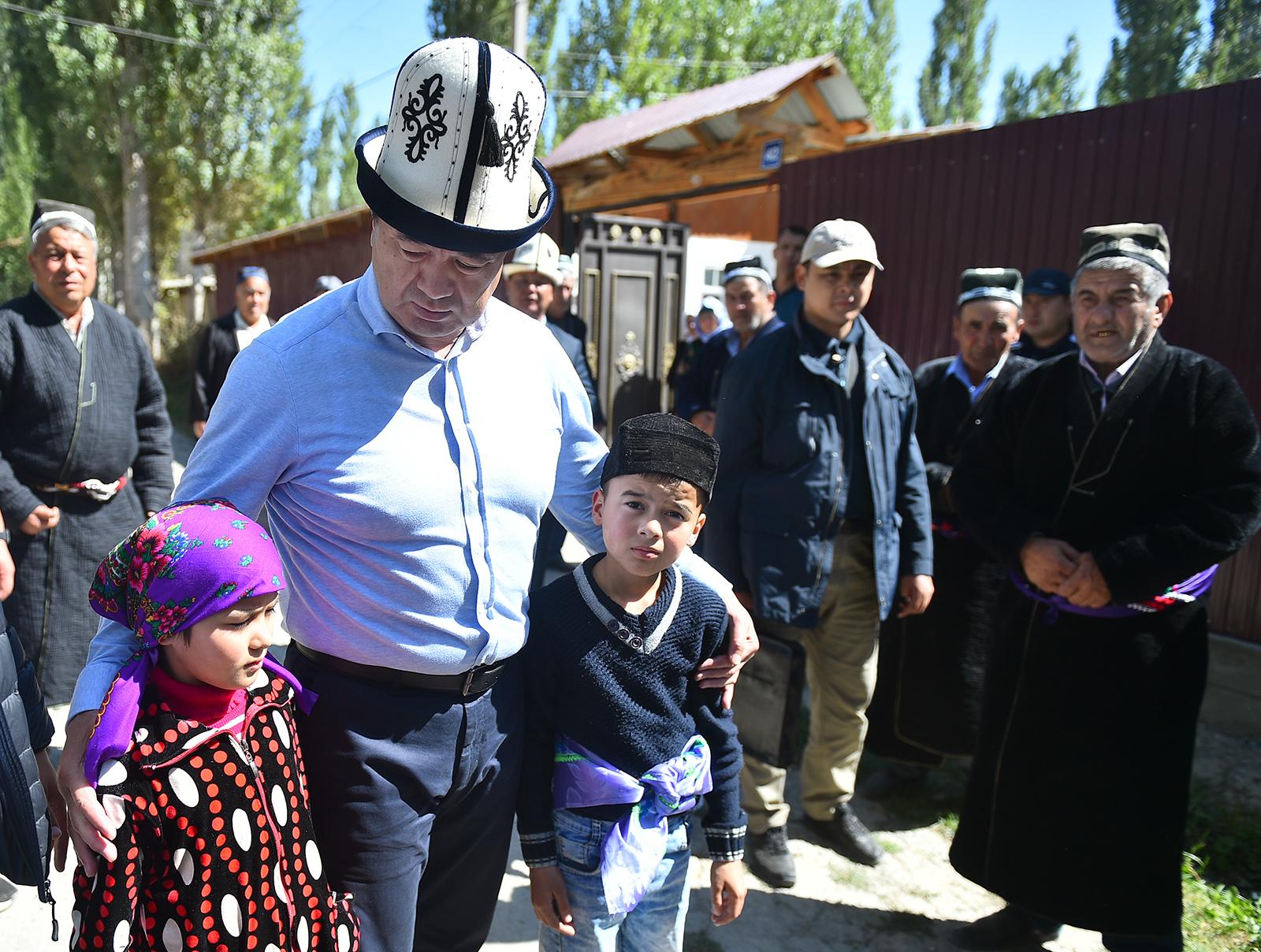 Кровавая граница. Премьер Кыргызстана лично разведал обстановку у рубежей с Таджикистаном