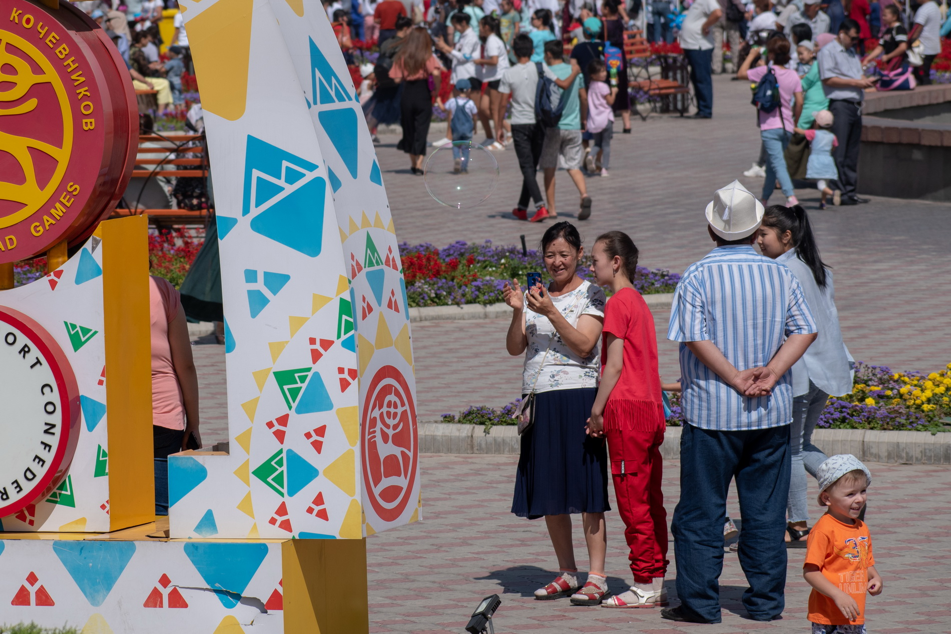 В Кыргызстане праздник – День независимости!