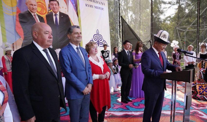 Посол А.Джекшенкулов старается крепить связи Кыргызстана и России.
