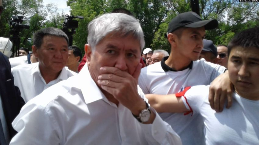 А.Атамбаев отказывался сотрудничать со следствием. Заговорит ли теперь на суде?