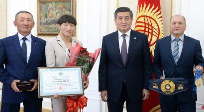 Чемпионка Тыныбекова завоевала не только путевку в Токио, но и квартиру в Бишкеке
