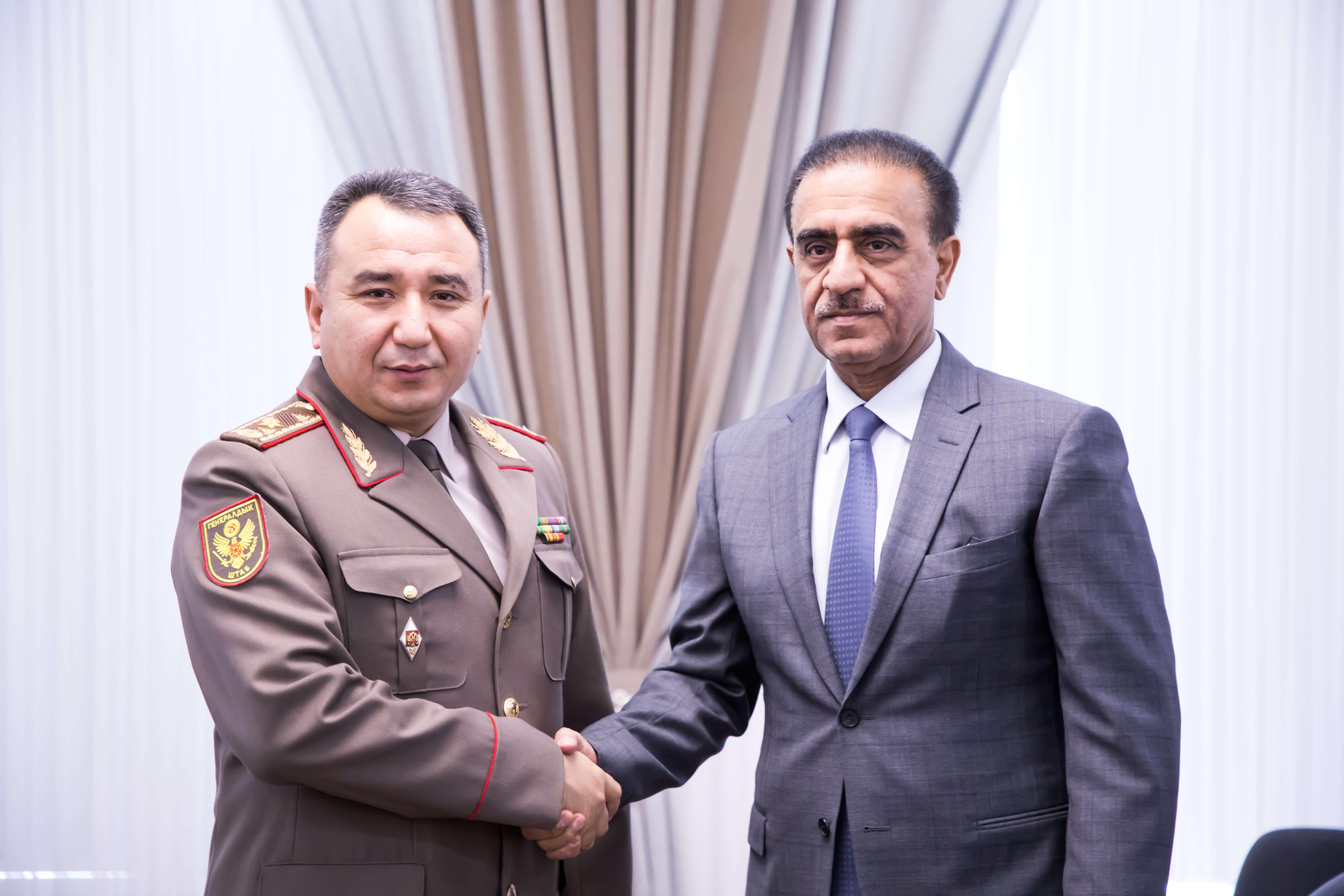Генерал Дуйшенбиев послу Аль-Сулейти: «Добро пожаловать в Кыргызстан!»