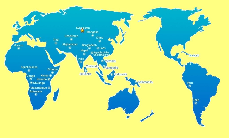 К-water с успехом осуществляет свыше 80 инвестиционных проектов в 30 странах мира.