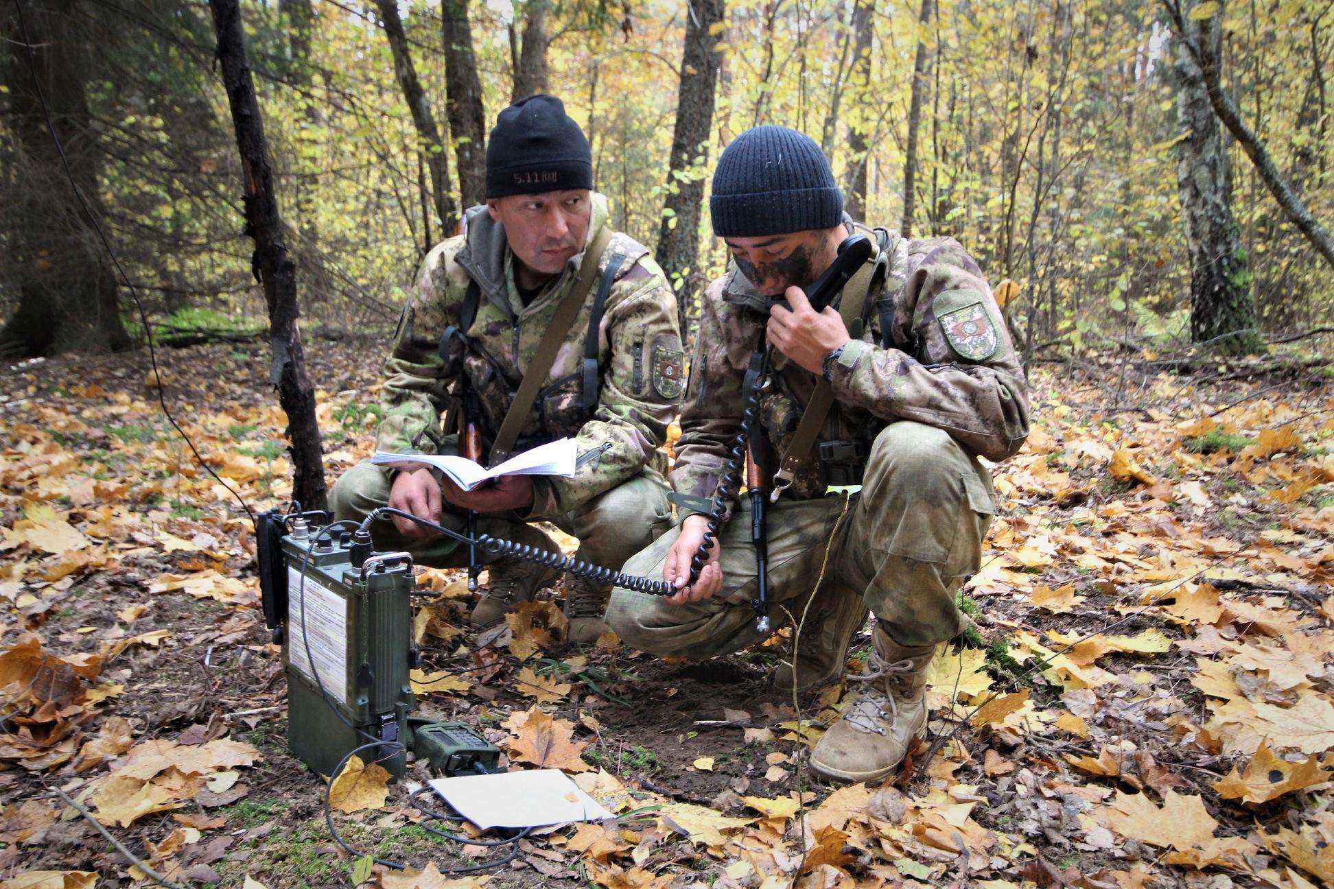 В лесах Беларуси обнаружены вооруженные до зубов кыргызские «партизаны»