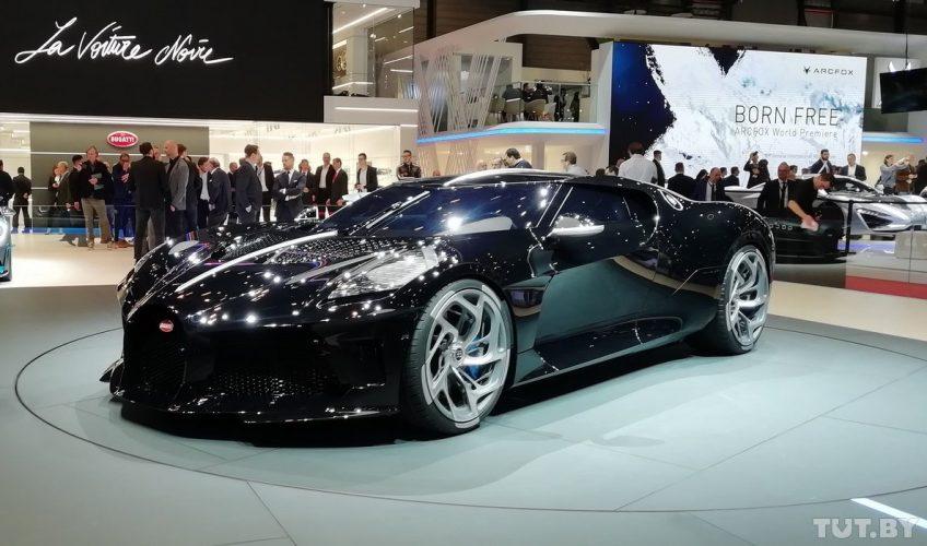 А вот узнавать историю самого дорогого в мире автомобиля Bugatti La Voiture Noire не имеет смысла – он сделан в единственном экземпляре!