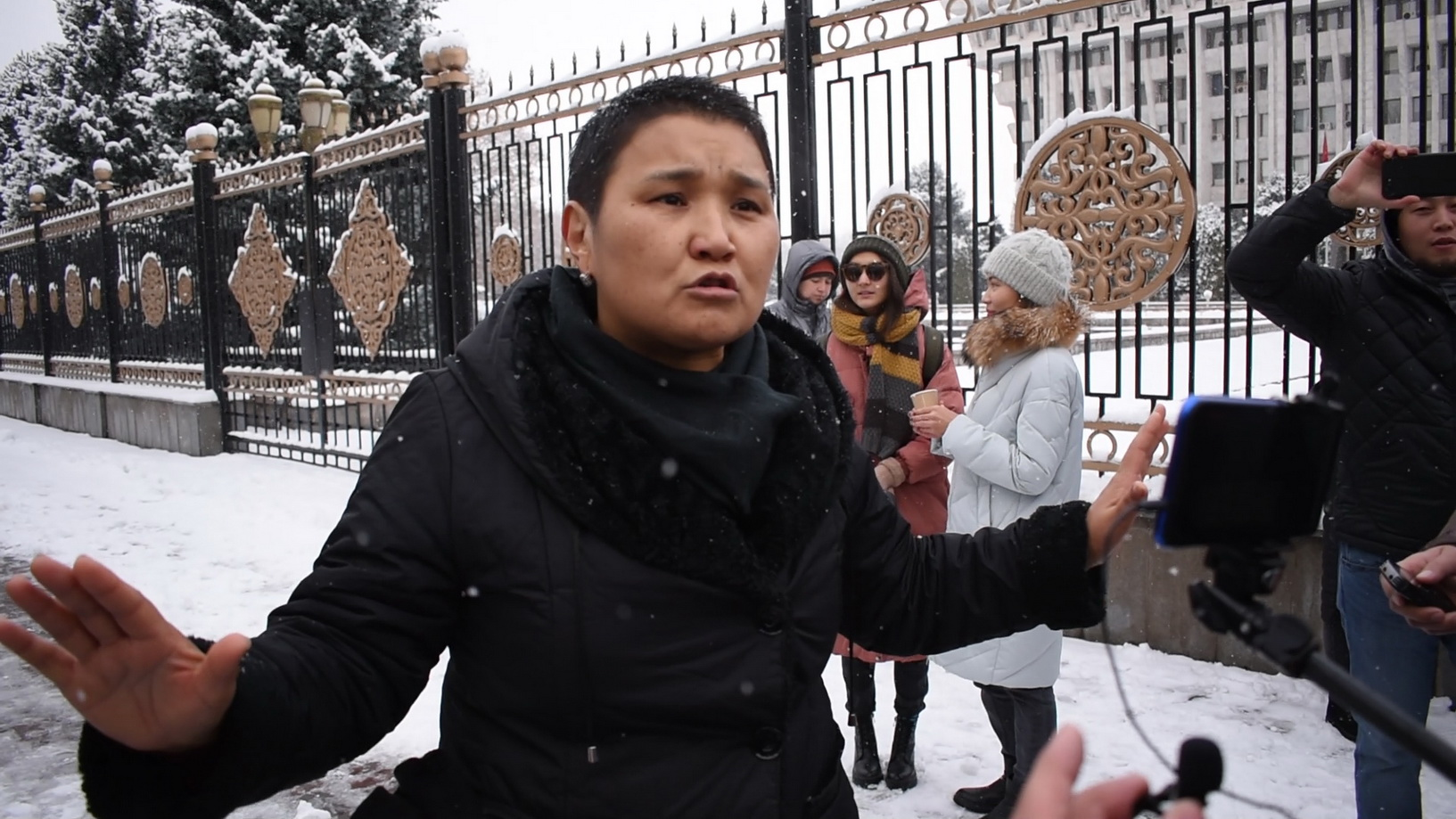 Правозащитники утверждают, что акция была спонтанной, мол, горожане сами вышли на улицу. Другие в ней видят технологии управления людьми, которые применялись в Украине пять лет назад