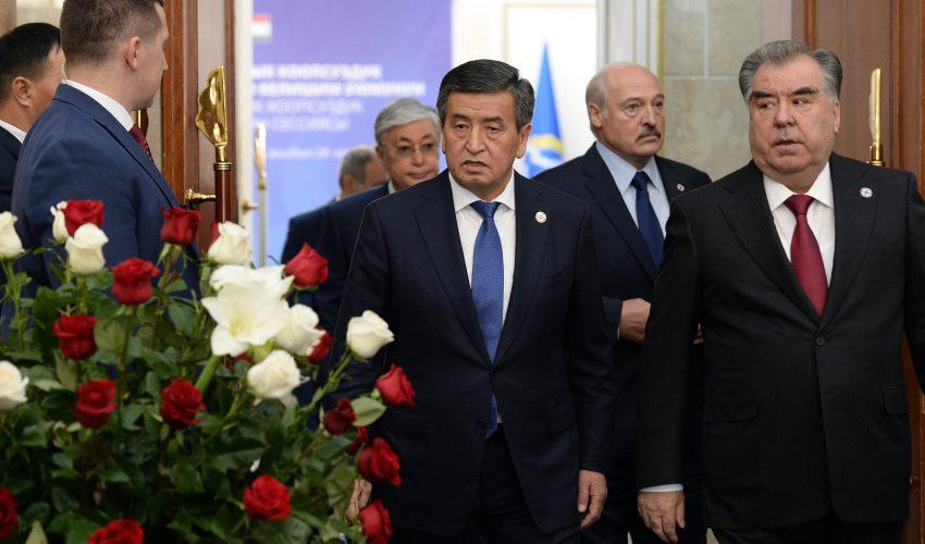 ОДКБ заявляет об успехах, хотя два члена этой организации – Бишкек и Душанбе — спорят из-за границ с оружием в руках!