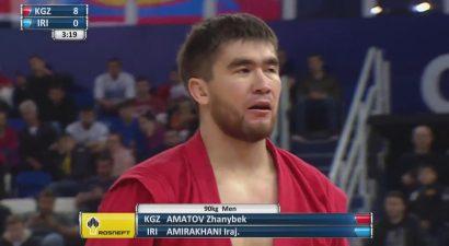 У Кыргызстана бронза на чемпионате мира по боевому самбо