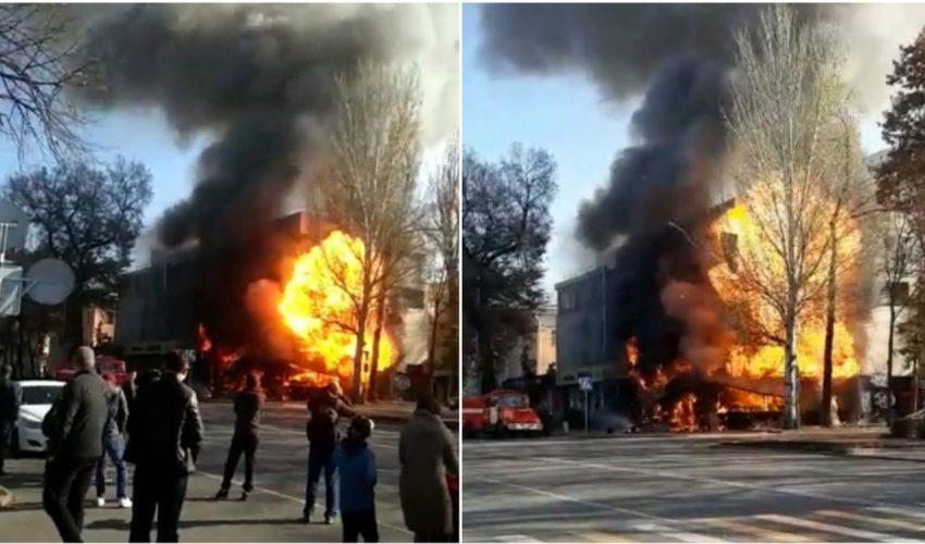 Пожалуй, пожар со взрывом в точке продажи фаст-фуда в столице, это самое громкое во всех смыслах происшествие за весь 2019 год.