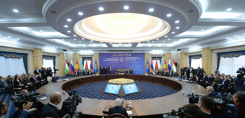 Встречи в формате ОДКБ проходили как в узком, так и в расширенном составах.