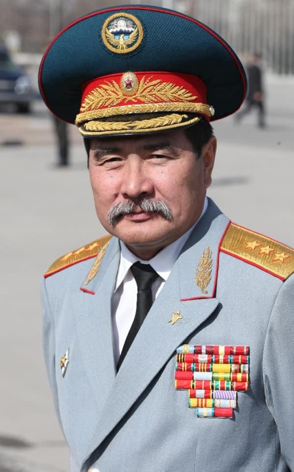 Один из немногих истинных генералов Кыргызстана…