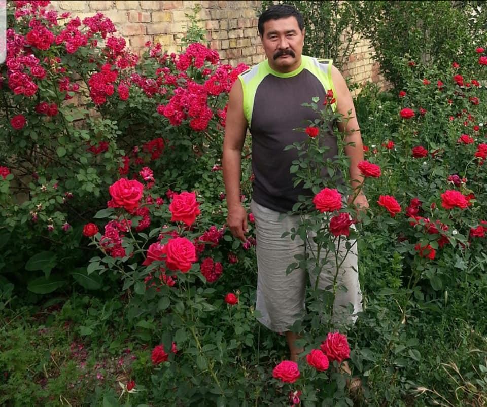 Воин и розы…