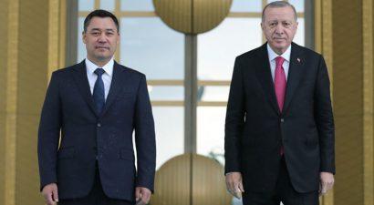 Официальный Визит Садыра Жапарова в Турцию
