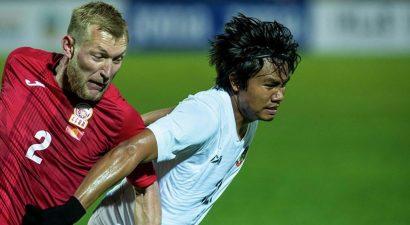 Кыргызстан с разгромным счетом выиграла Мьянму