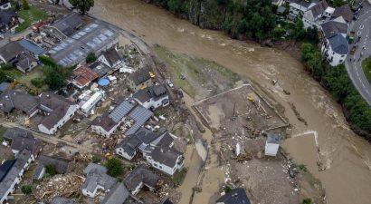 Ливни и наводнения в Германии. Растет число жертв непогоды