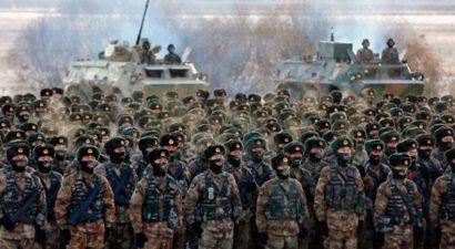 70 000 китайских солдат прибыли в СУАР Синцзянь-Уйгурский Автономный Регион