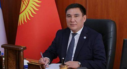 Таалайбек Сарыбашов ушел с поста и.о. мэра г. Бишкек
