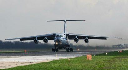 Самолеты минобороны России доставили на родину граждан КР