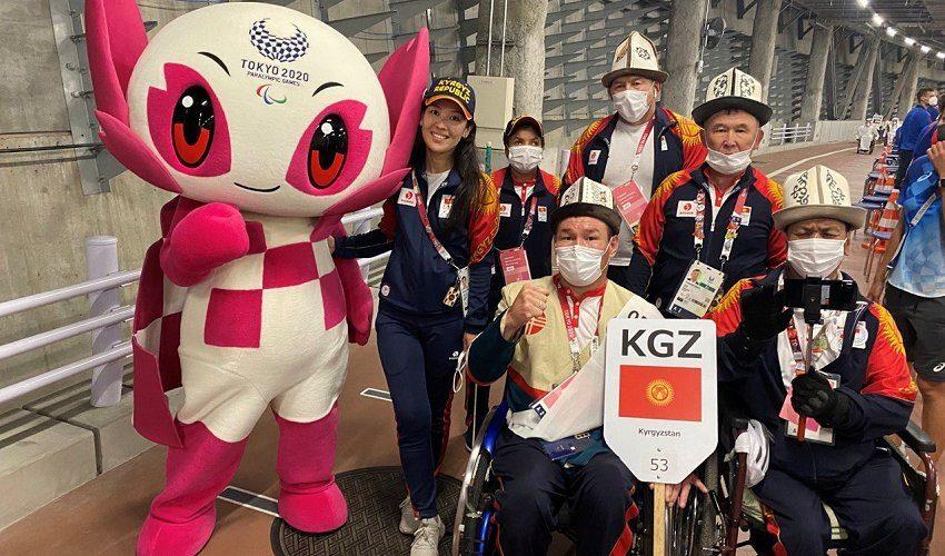 Отечественные спортсмены на открытии Паралимпийских игр