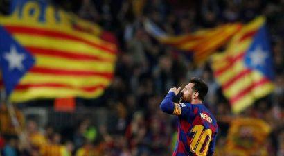 Лионель Месси покидает Барселону