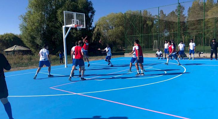 Стартовала спартакиада по игровым видам спорта на Кубок председателя ГКНБ
