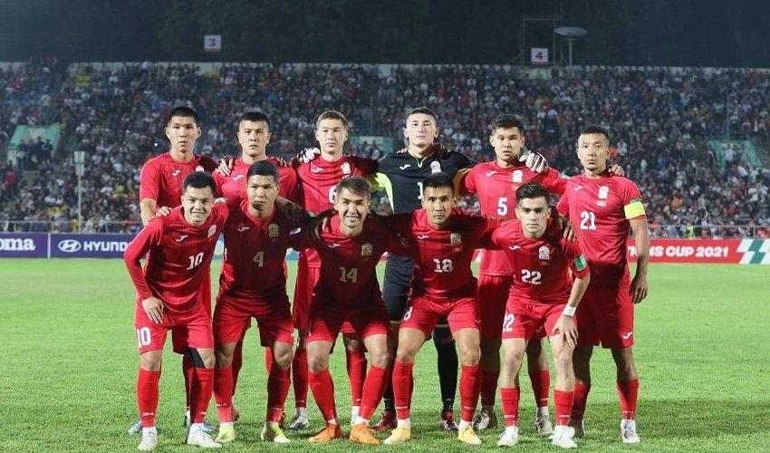 Национальная сборная КР по футболу обыграла команду Палестины