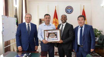 IMMAF укрепляет связи с президентом Кыргызстана