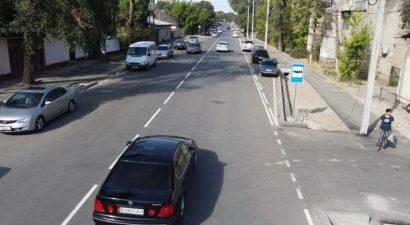 Проезд в Бишкек открыли по 11 улицам