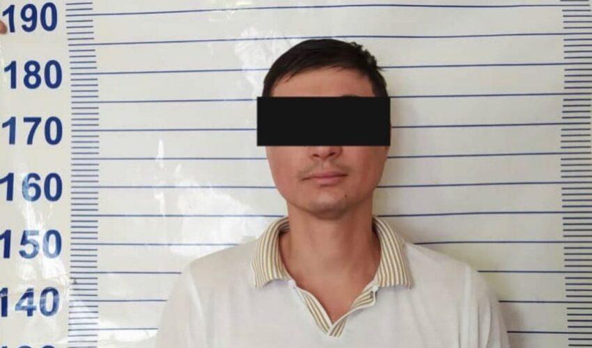 В Бишкеке задержали гражданина Республики Узбекистан